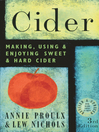 Cider (eBook): Making, Using & Enjoying Sweet & Hard Cider